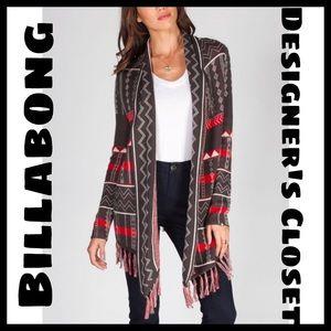 🆕 Billabong Designer's Closet Milena Cardigan